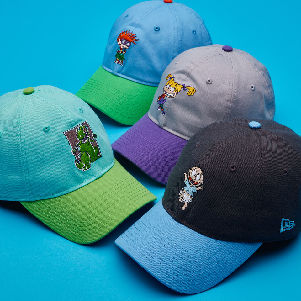 reputable site 18b73 daa9f New Era x Nickelodeon  90s Caps