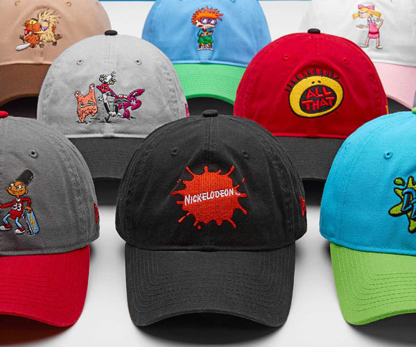 New Era x Nickelodeon '90s Caps