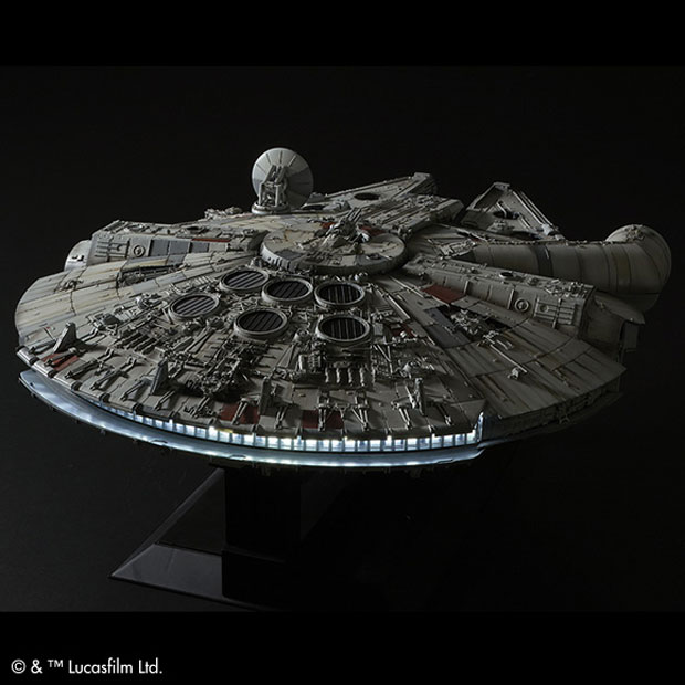 Perfect Grade 1/72 Millennium Falcon