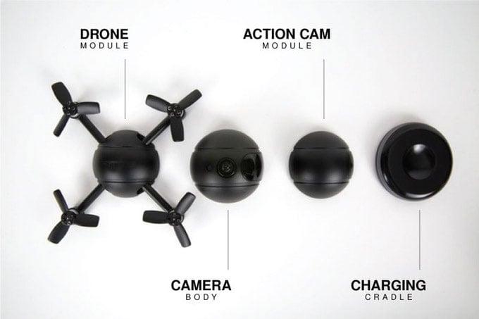 PITTA Transforming Camera Drone