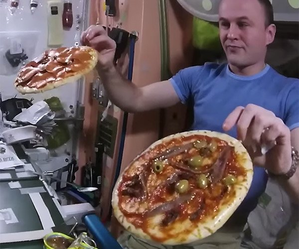 Pizzas in Space