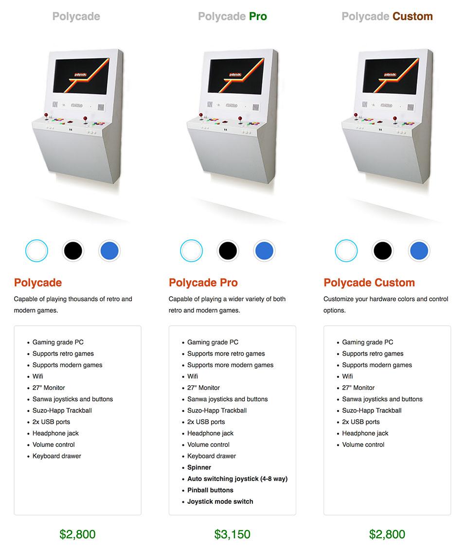 Polycade Pro Arcade Machine