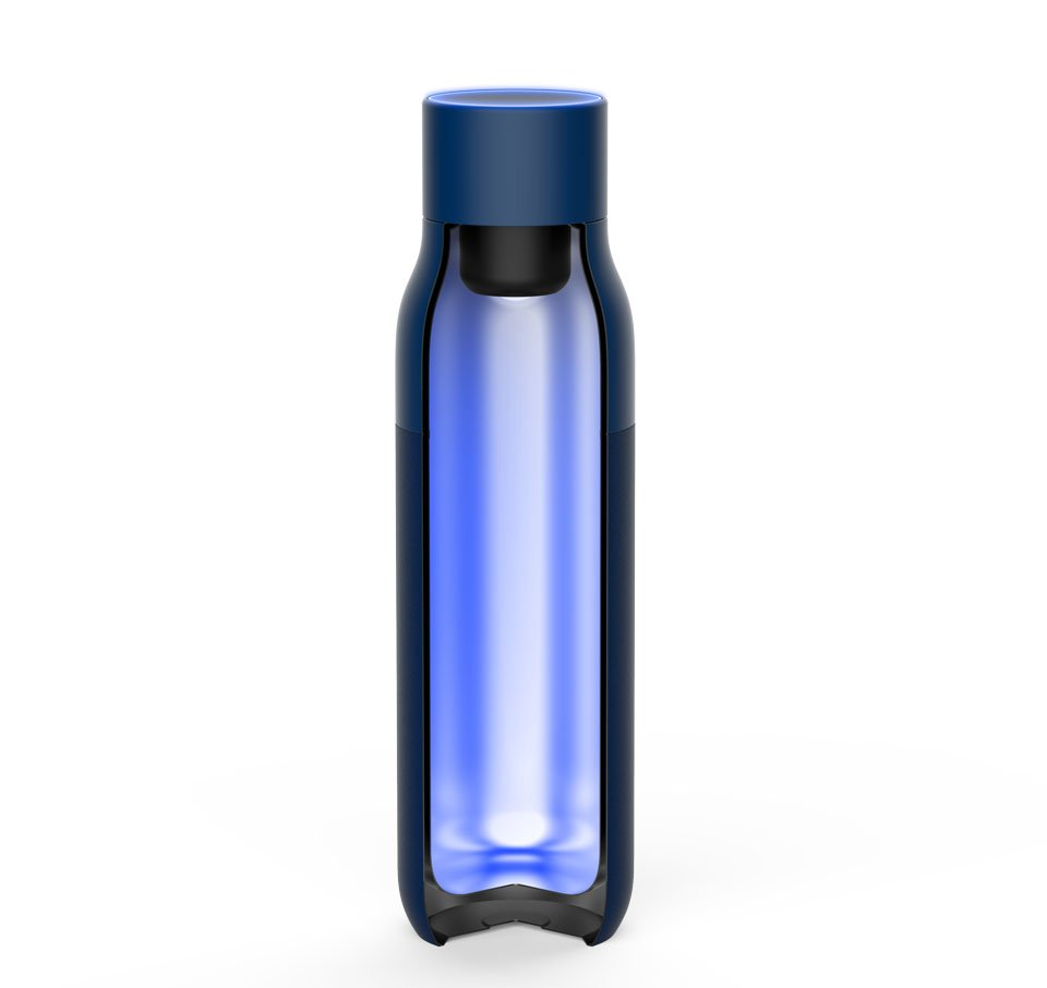Quartz Self-Cleaning Water Bottle