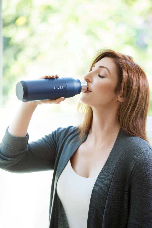 Quartz Self-Cleaning Water Bottle