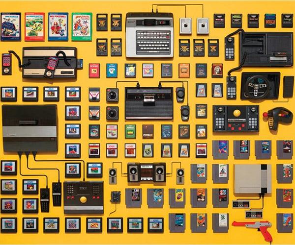 Retro Video Game Puzzle