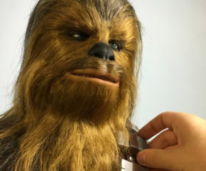 Making a Chewbacca Sculpture