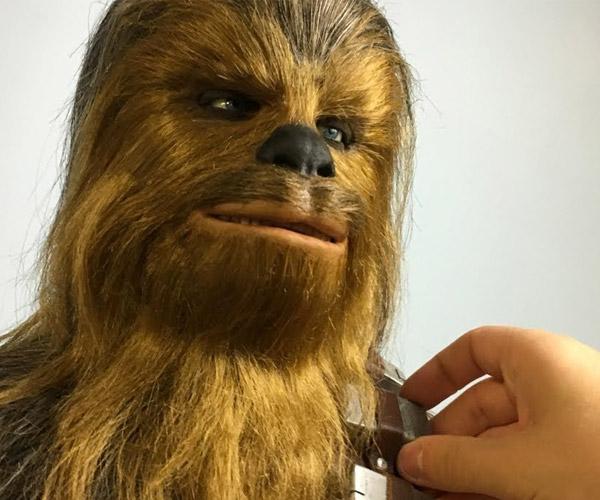 Making a Chewbacca Sculpture