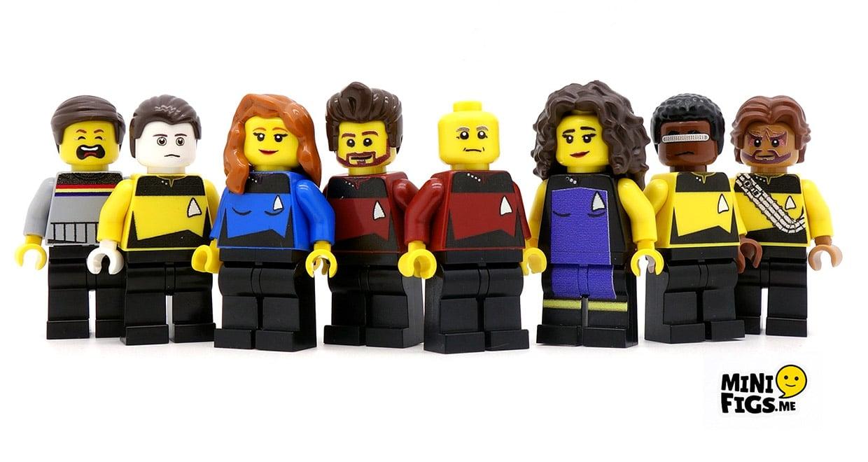 Star Trek TNG Minifigs