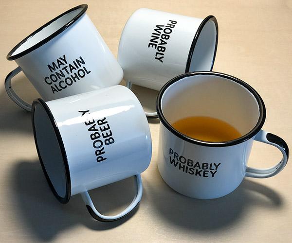 Swag Brewery Enamel Mug