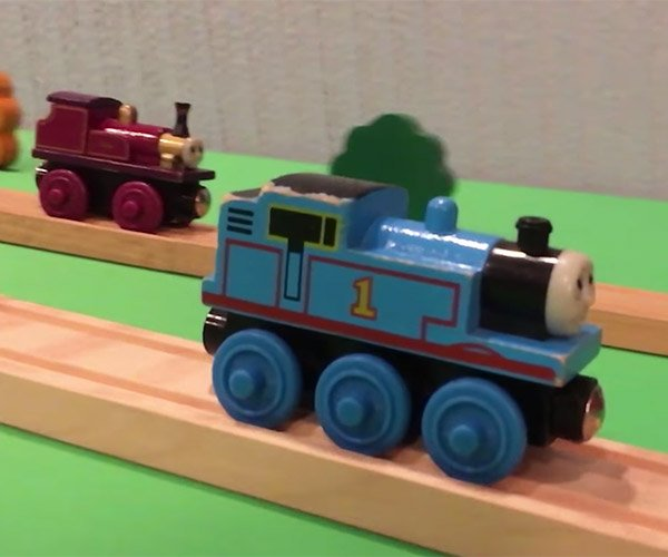 Thomas the Train Does Stunts