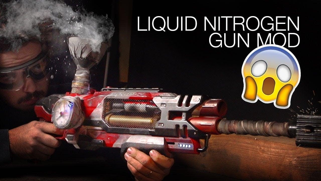 Liquid Nitrogen NERF Mod