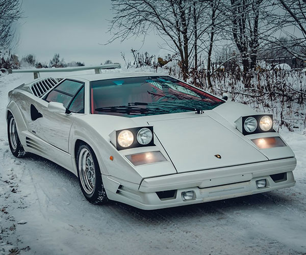 25th Anniv. 1991 Lamborghini Countach