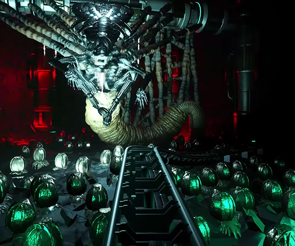 Aliens Roller Coaster