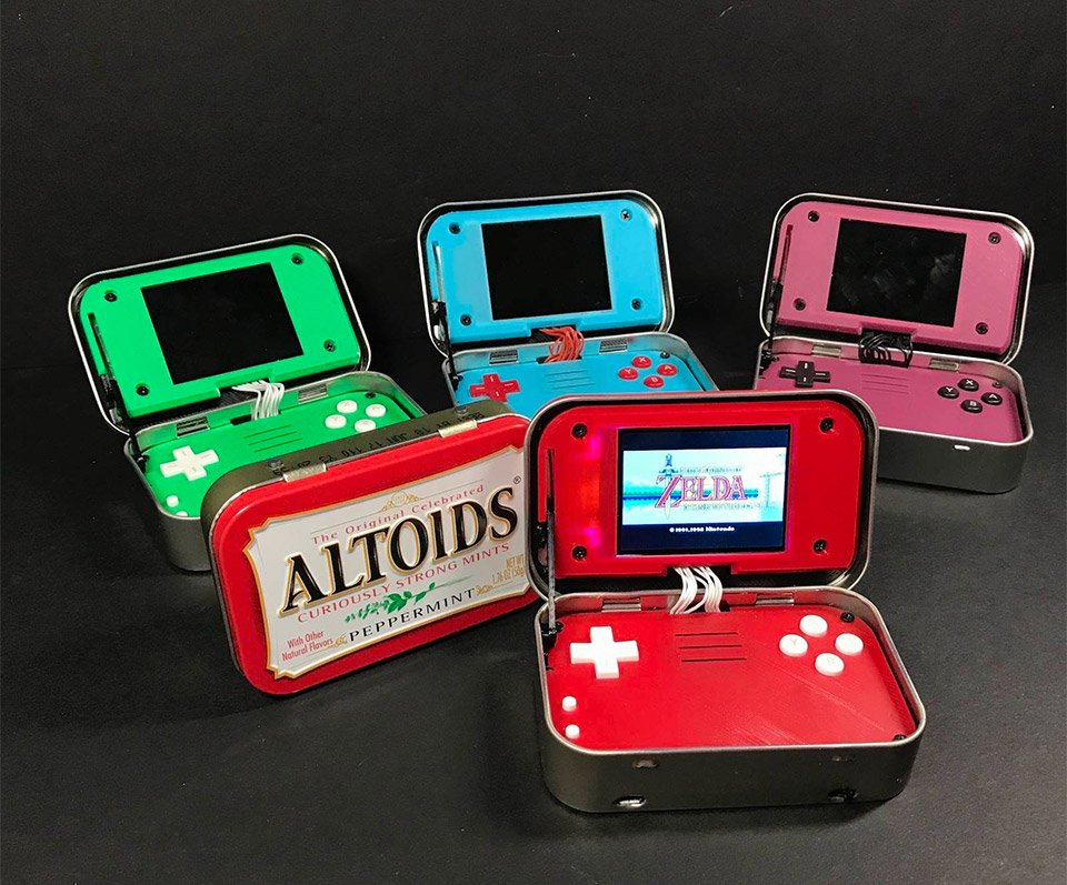 MintyPi Gaming Handheld