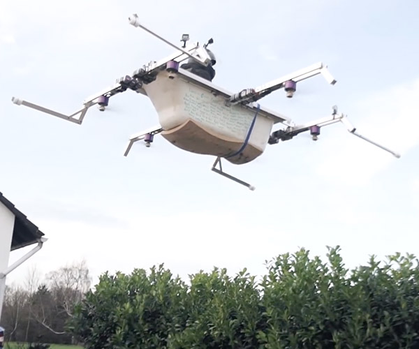 Flying Bathtub Drone