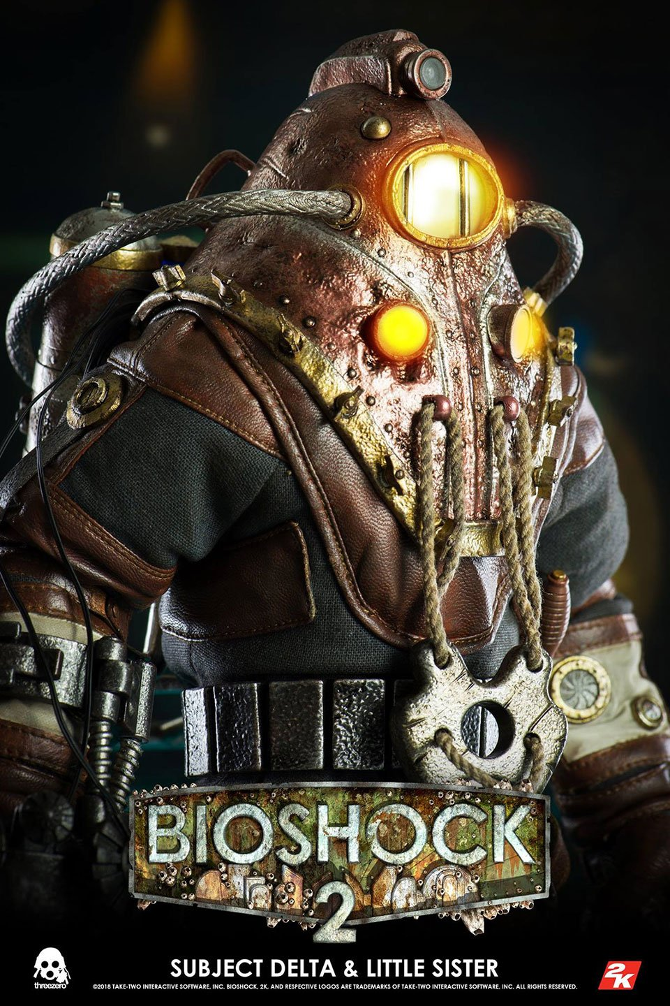 BioShock 2 Subject Delta Figure Set