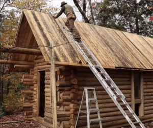 Building a Log Cabin Solo