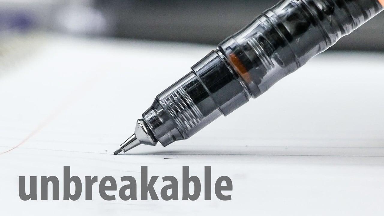 This Mechanical Pencil Won T Break Leads No Matter How