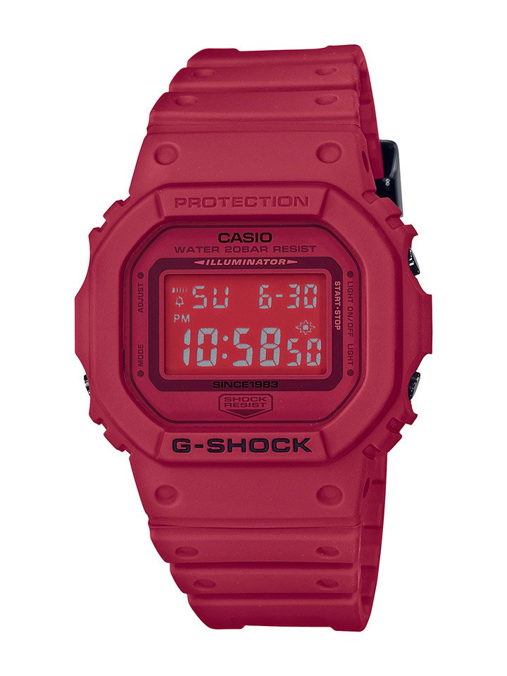Casio G-SHOCK Red Out