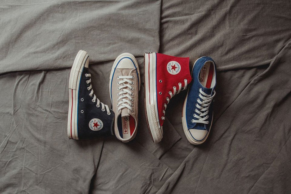 Rock the \'70s with Converse\'s Sweet Vintage Chuck Taylor Shoes