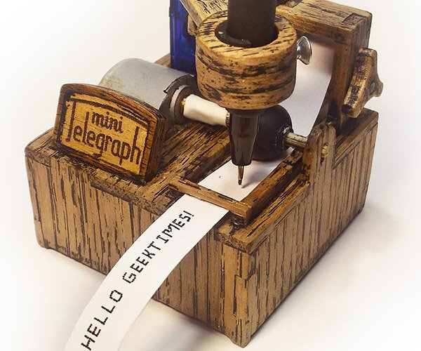 DIY Mini Telegraph