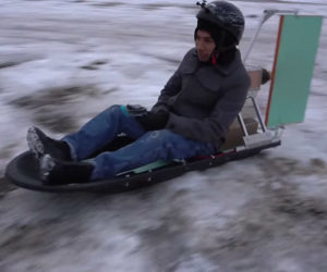 DIY Propeller Sled