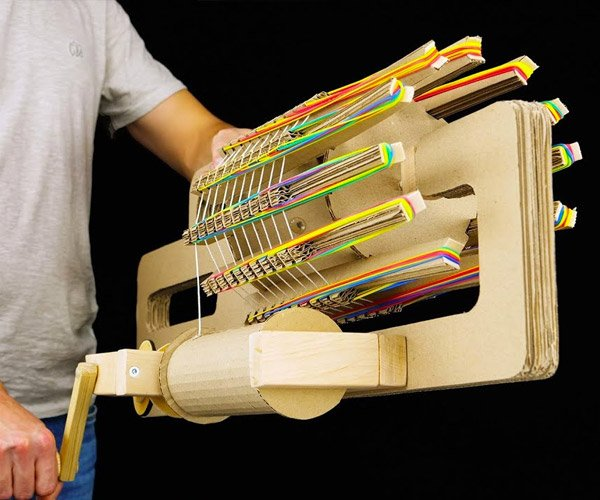 DIY Rubber Band Machine Gun