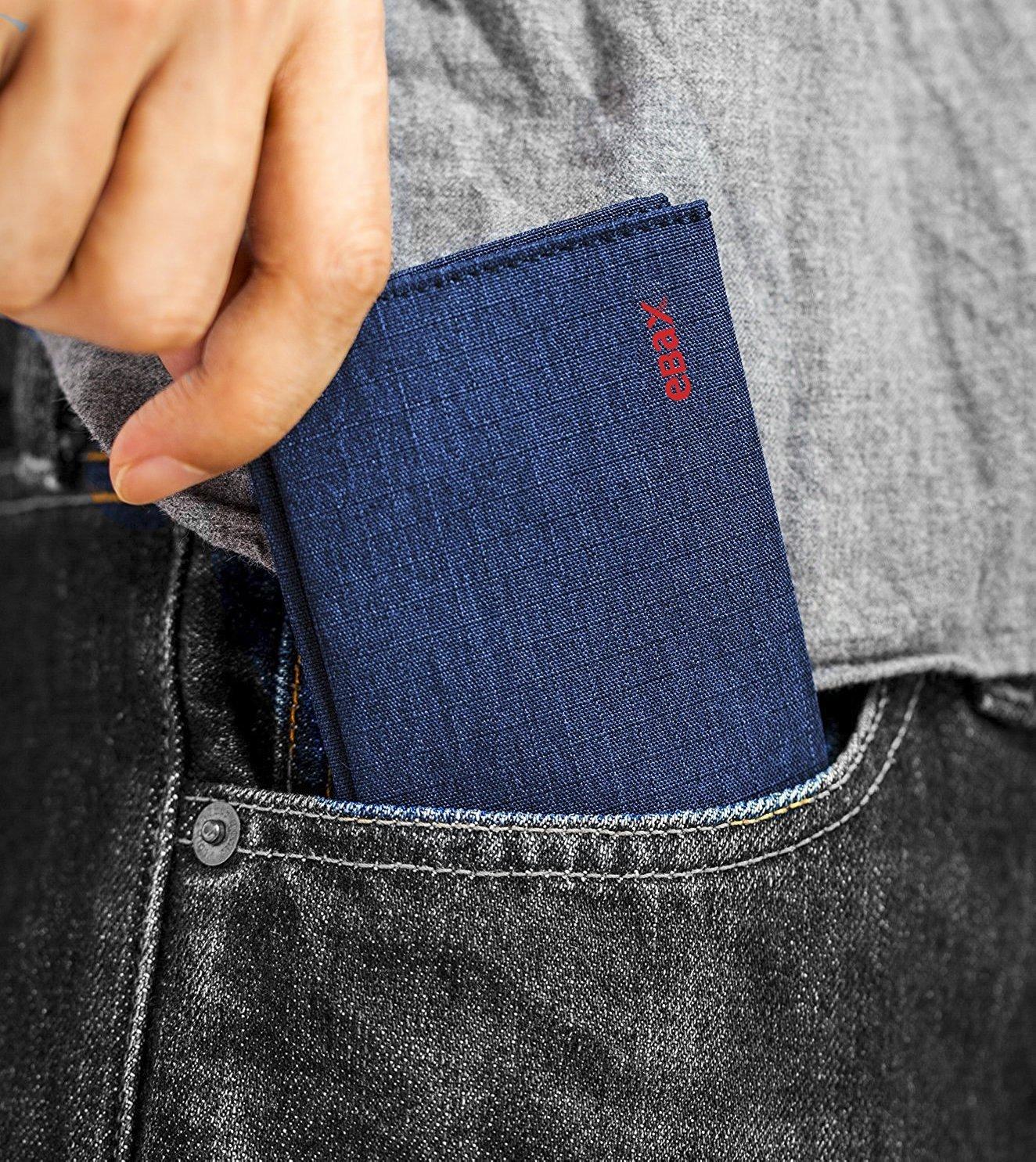 Ebax Slim Bifold Wallet