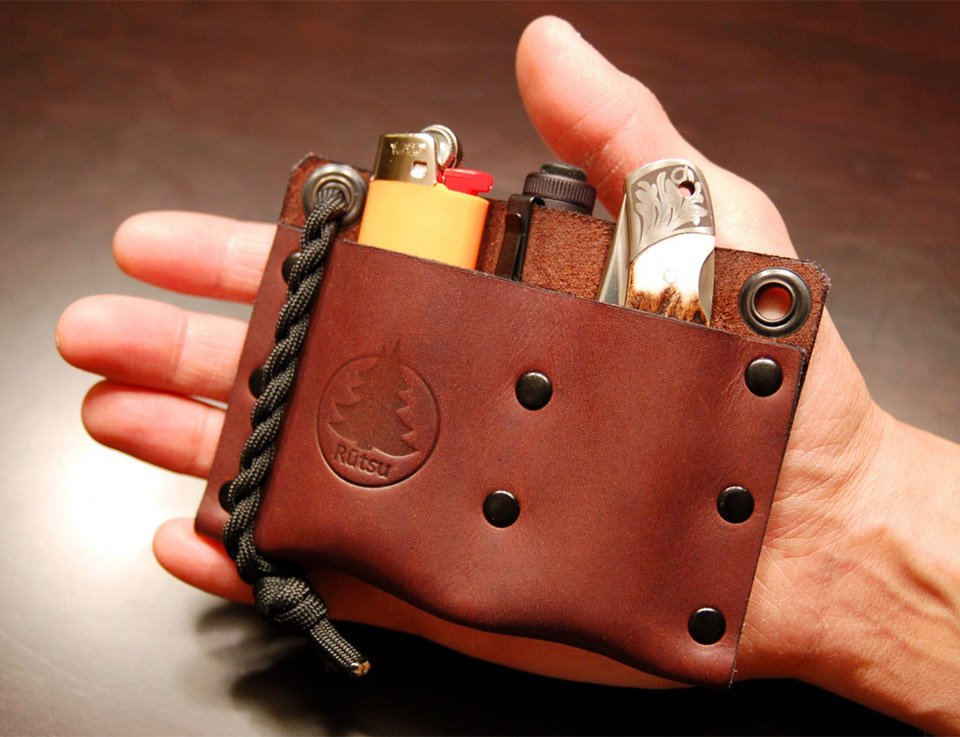 Leather EDC Pocket Valet