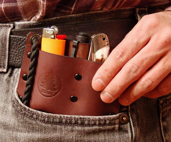 Leather EDC Pocket Valet
