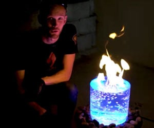 DIY Flaming Vortex Fountain