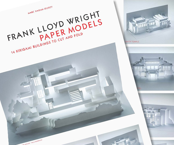 Frank Lloyd Wright Kirigami Models