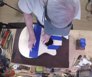 Making a Goodall Guitar