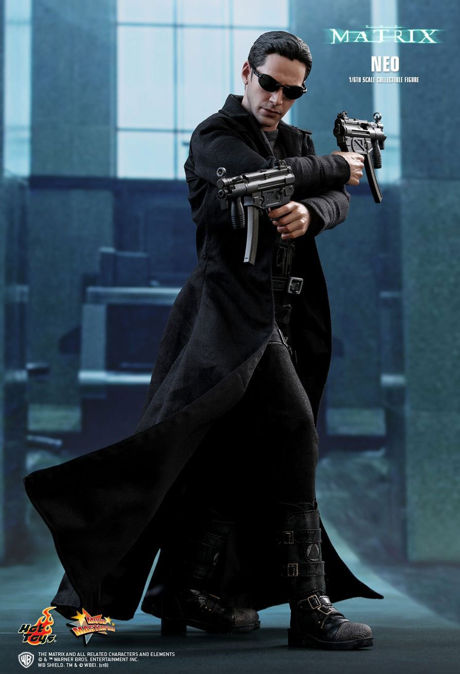 The Matrix Neo Action Figure