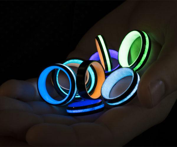 Ignite! Glow-in-the-dark Rings