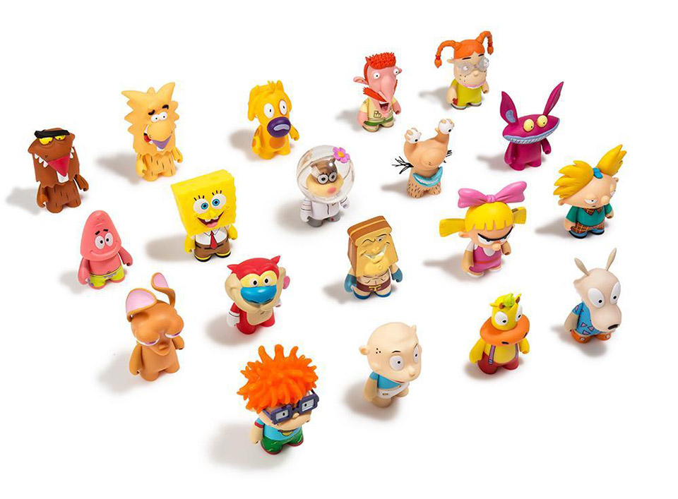 Kidrobot Nickelodeon '90s Minis