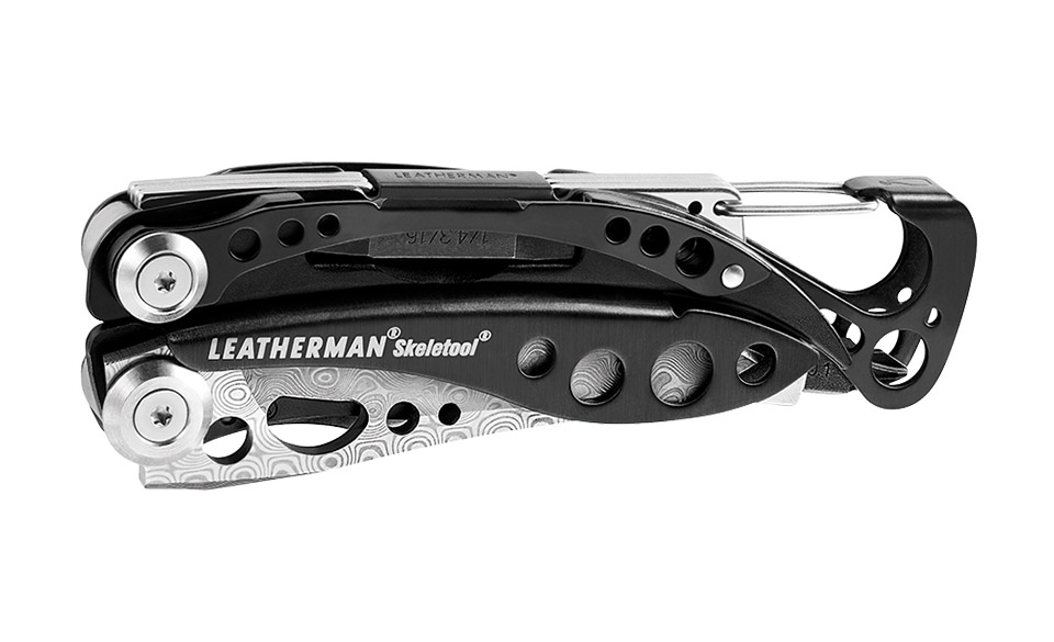 Leatherman Skeletool Damasteel