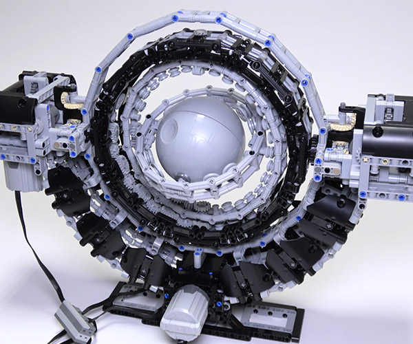 LEGO Spinning Gimbals