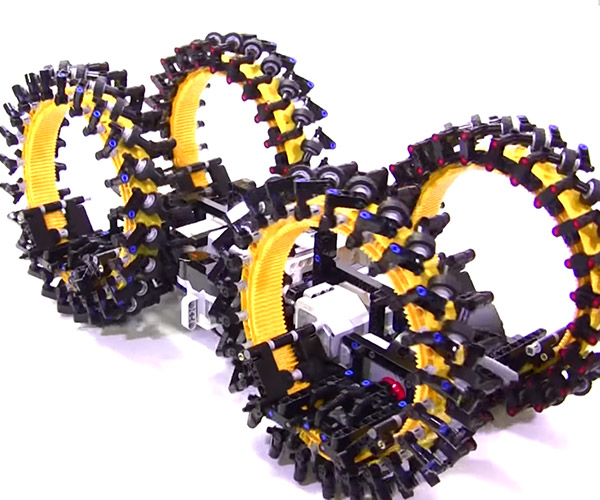 LEGO Mecanum Ring Vehicle