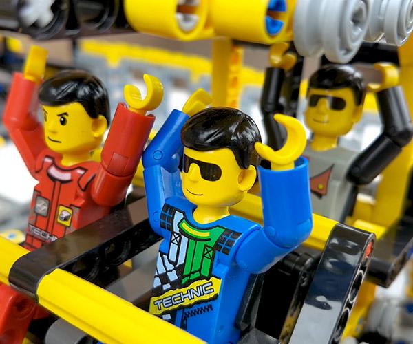 LEGO Minifig Roller Coaster