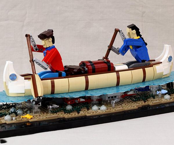 LEGO Voyageurs Automaton