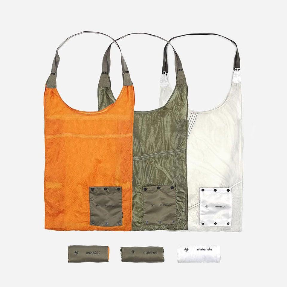Maharishi Upcycled Parachute Bags