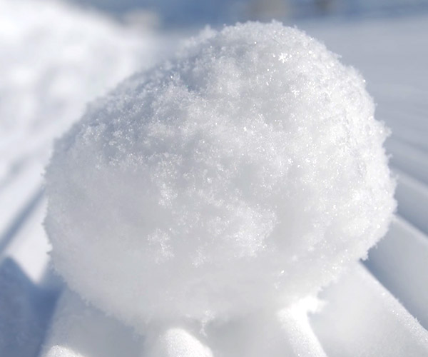 How to Make a Perfect Snowball