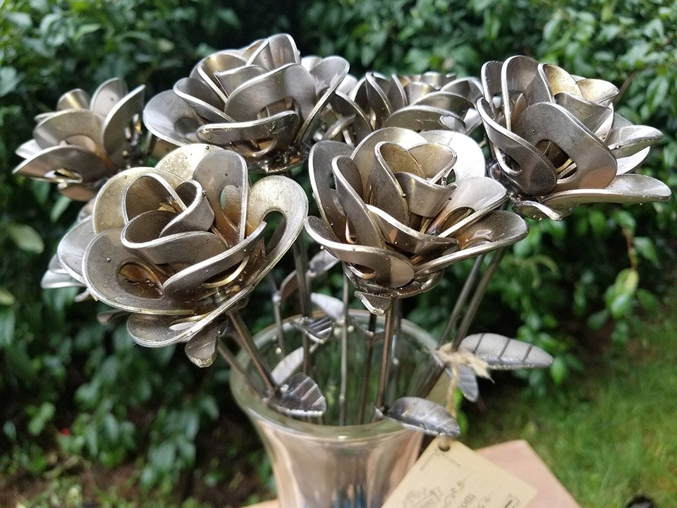 Metalrelic Forever Roses Pop Out