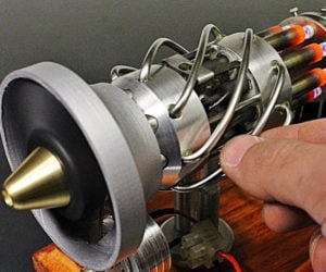 Miniature 16-cyl Stirling Engine