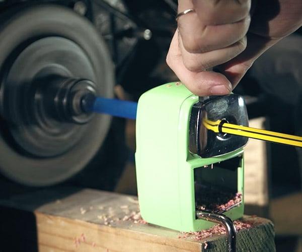 Motorcycle Engine Pencil Sharpener