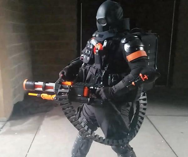 NERF Rival Minigun Mod