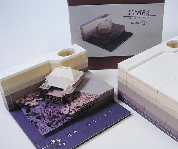 Omoshiroi Block Memo Pads