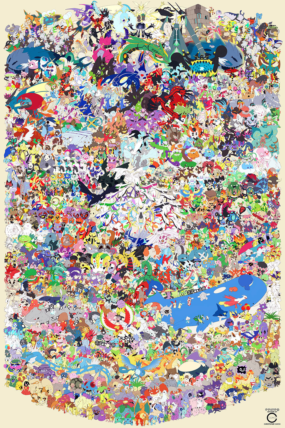 Pokémon Draw 'Em All! Poster