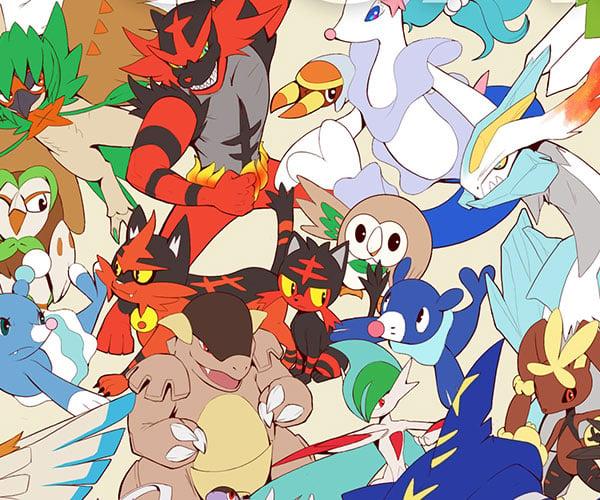 Pokémon Draw 'Em All! Poster